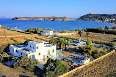 Paros, seaside residence, with panoramic view,  in Molos