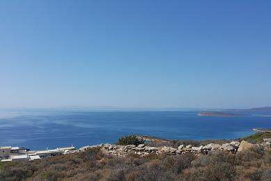 Paros, Agkeria, land parcel of 8329sq.m. with magnificent views