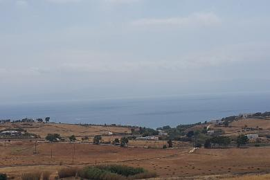 Plot of 17311 m2 with sea view, in the area of Chryssi Akti